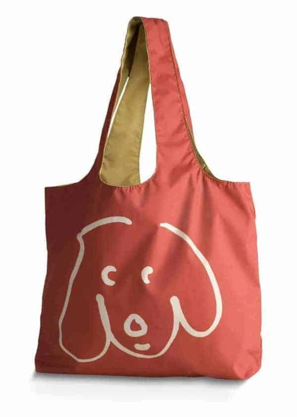 Crypton Doodle Dog Shopper (Paprika)